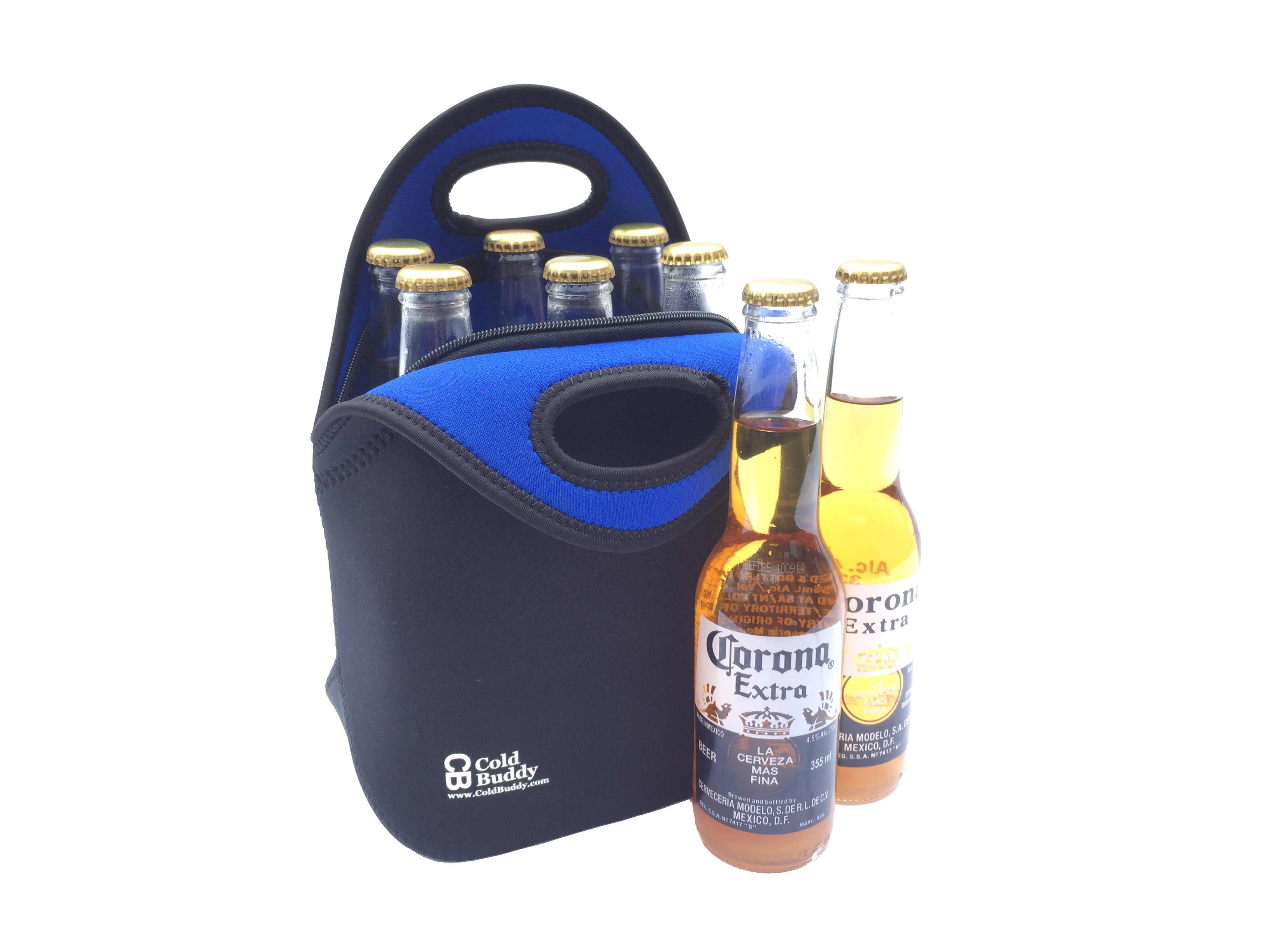 Lunch And Bottle Bag Cold Buddy Neoprene Bags